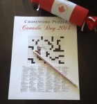 Crossword Puzzle - fastest to finish wins!