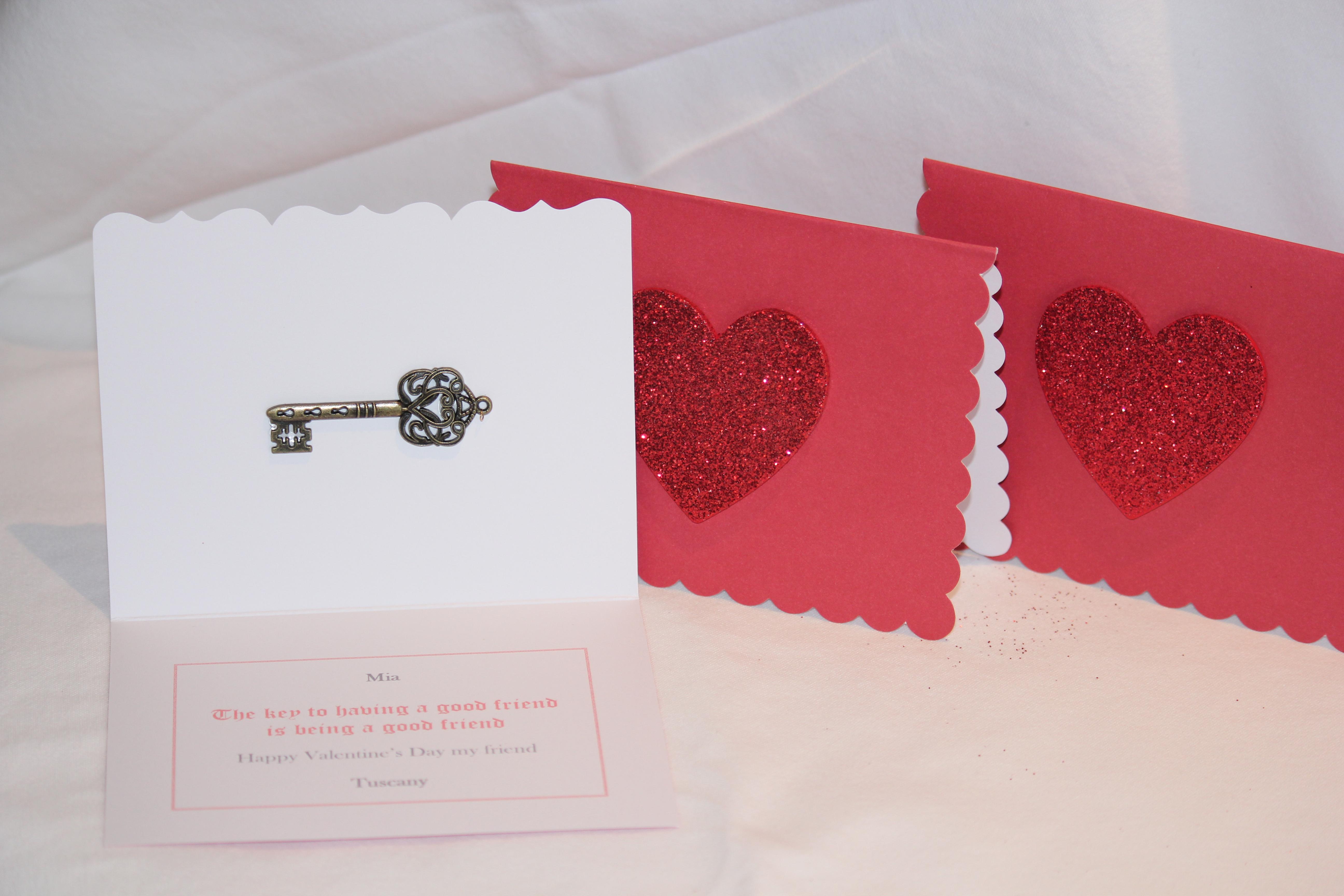 Lita Lane Childrens Homemade Valentine Cards 2013